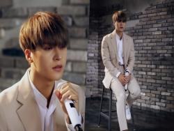 "Watch: Highlight's Son Dongwoon Performs Beautiful Self-Composed Ballad ""There's No Eternity"" From 1st Solo Single"