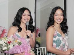 LOOK: Aicelle Santos is blooming at her homecoming media conference