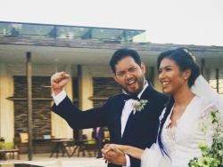 LOOK: Quark Henares and Bianca Yuzon tie the knot in Bali, Indonesia